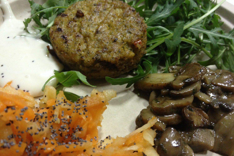 ricetta Burger di tofu e broccoli