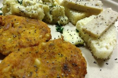 ricetta frittelle di zucca e pinoli