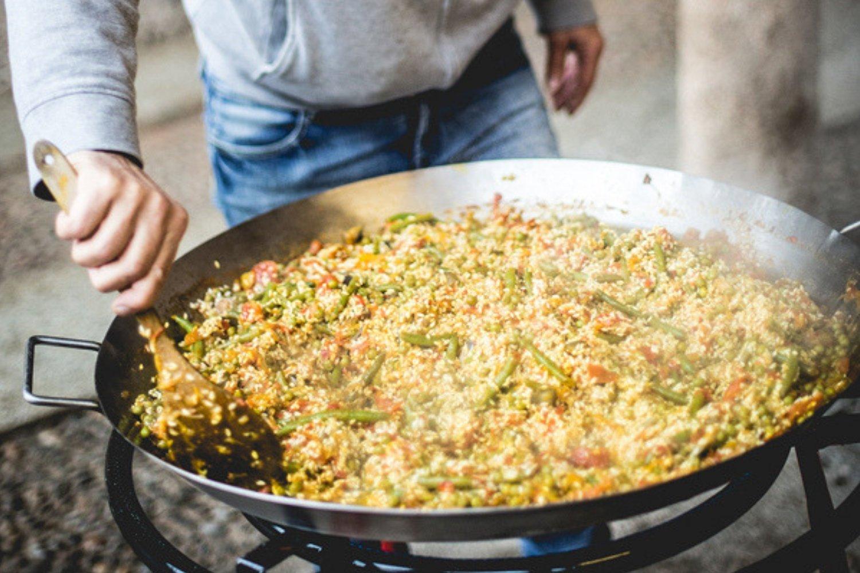 ricette paella blanca