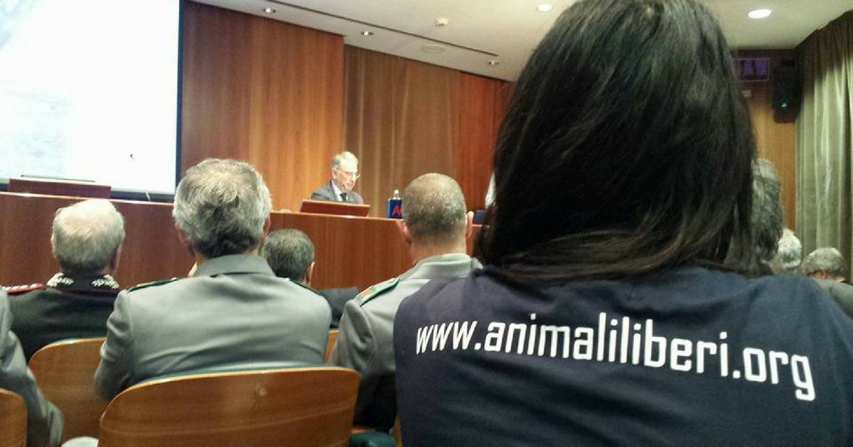 Presentata oggi a Roma la Carta per i diritti degli animali salvati!