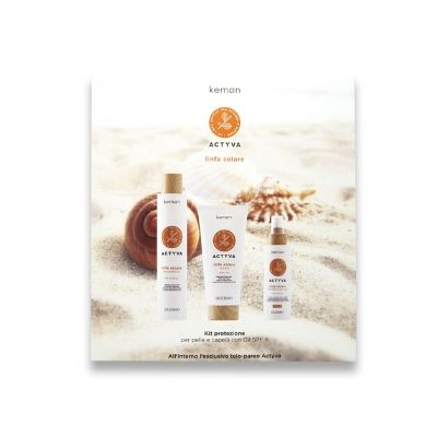Ticket for Food - Kit Linfa Solare Shampoo + Mask + Protection Oil Hair e Body SPF 10